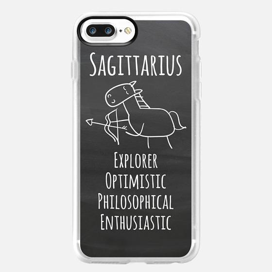 Zodiac - Sagittarius - Chalkboard -
