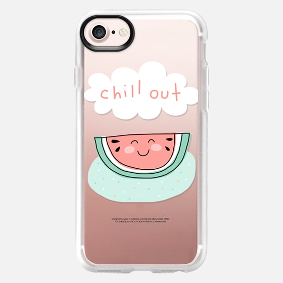 Chill Out - Watermelon - Summer Love and Fun - Mint Green & Pink - Wallet Case