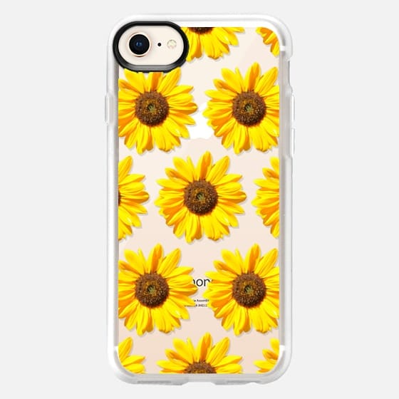 Small Sunflowers - Floral Pattern - Snap Case