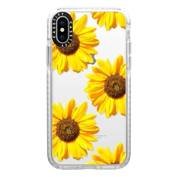 Impact iPhone X Case - Sunflowers - Floral Pattern
