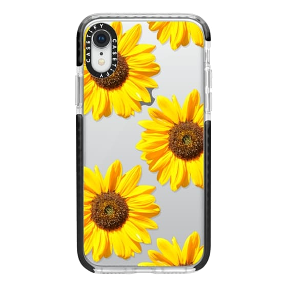 iPhone XR Cases - Sunflowers - Floral Pattern
