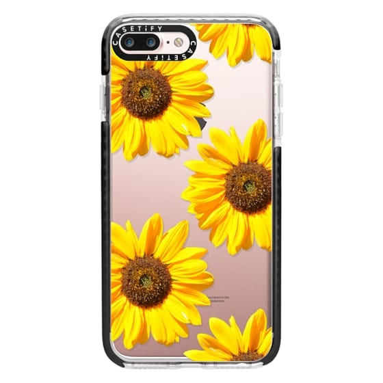 iPhone 7 Plus Cases - Sunflowers - Floral Pattern