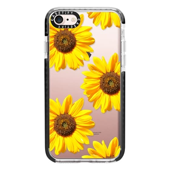 iPhone 7 Cases - Sunflowers - Floral Pattern