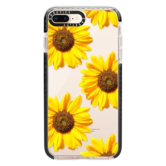 iPhone 8 Plus Cases - Sunflowers - Floral Pattern