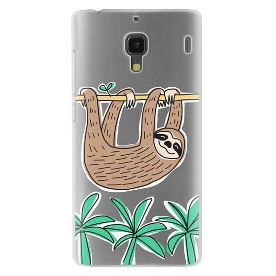 Redmi 1s Cases - Sloth - Tropical Animal - Palm Tree Leaves