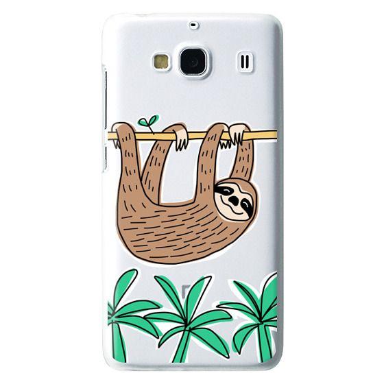 Redmi 2 Cases - Sloth - Tropical Animal - Palm Tree Leaves