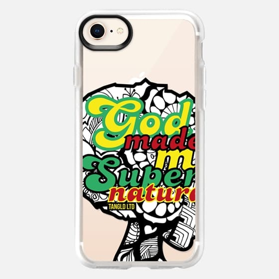 God Made Me Supernatural - Android - Snap Case