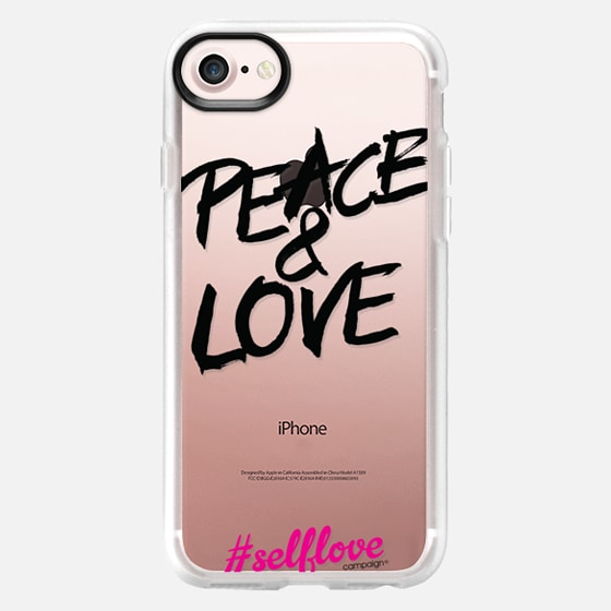 Self Love - Peace and Love - Wallet Case
