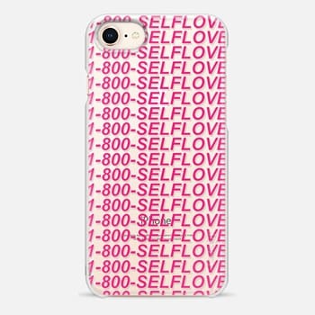 iPhone 8 Case Self Love - 1-800-SELFLOVE