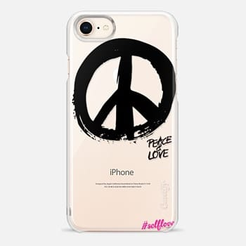 iPhone 8 Case Self Love - Peace Sign