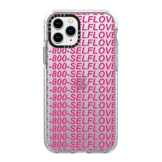 iPhone 11 Pro Cases - Self Love - 1-800-SELFLOVE