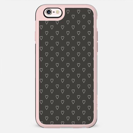 Black & White Hearts - New Standard Case