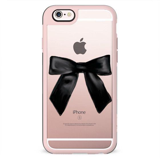 Black Glamorous Chic Bow