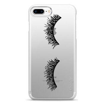 Snap iPhone 7 Plus Case - Eyelash Wink