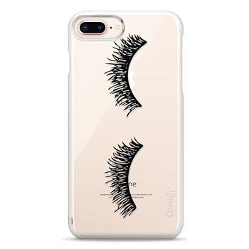 Snap iPhone 8 Plus Case - Eyelash Wink