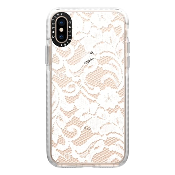 iPhone XS Cases - Bridal Lace