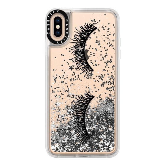 iPhone XS Max Cases - Eyelash Wink