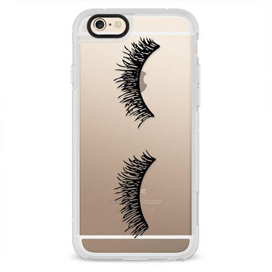 iPhone 4 Cases - Eyelash Wink