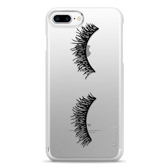 iPhone 7 Plus Cases - Eyelash Wink
