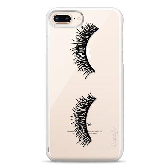 iPhone 8 Plus Cases - Eyelash Wink