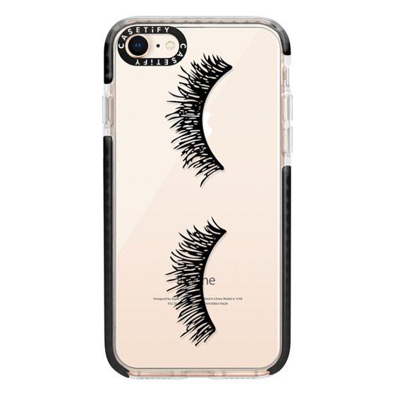 iPhone 8 Cases - Eyelash Wink