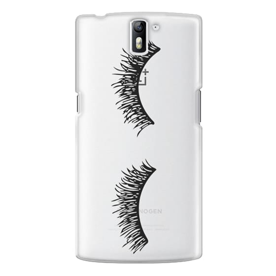 One Plus One Cases - Eyelash Wink