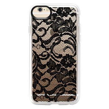 Grip iPhone 6 Case - Black Lace