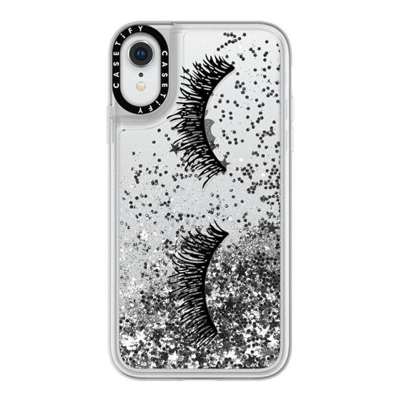 iPhone XR Cases - Eyelash Wink