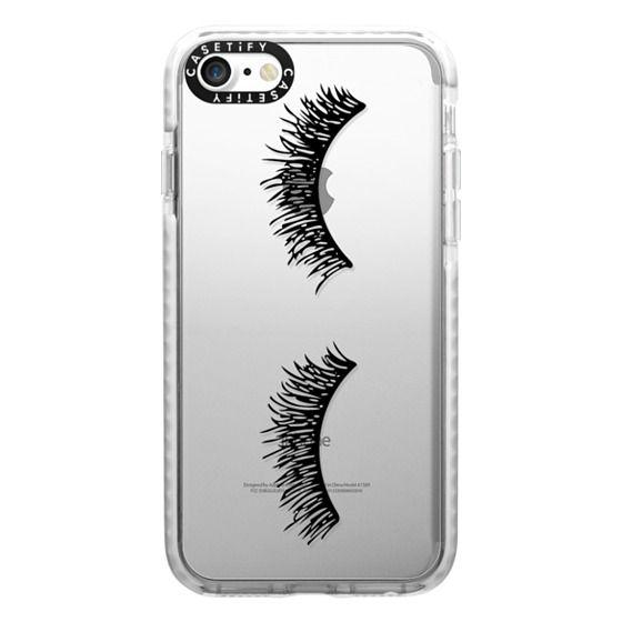 iPhone 7 Cases - Eyelash Wink