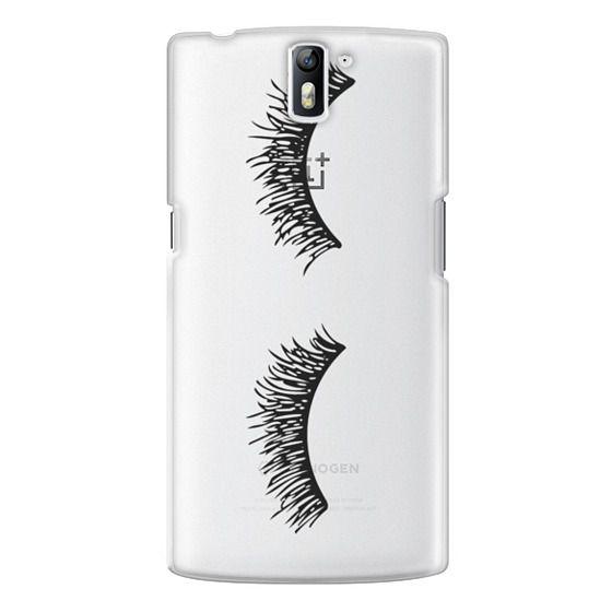 One Plus One Cases - Eyelash Wink