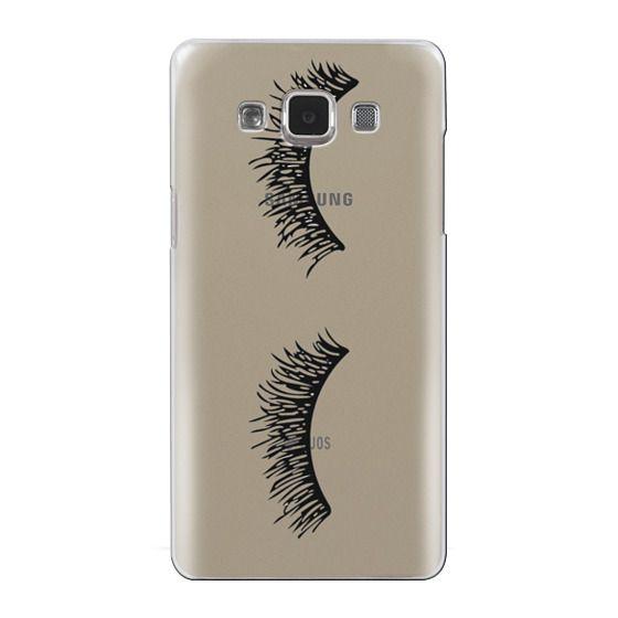 Samsung Galaxy A5 Cases - Eyelash Wink