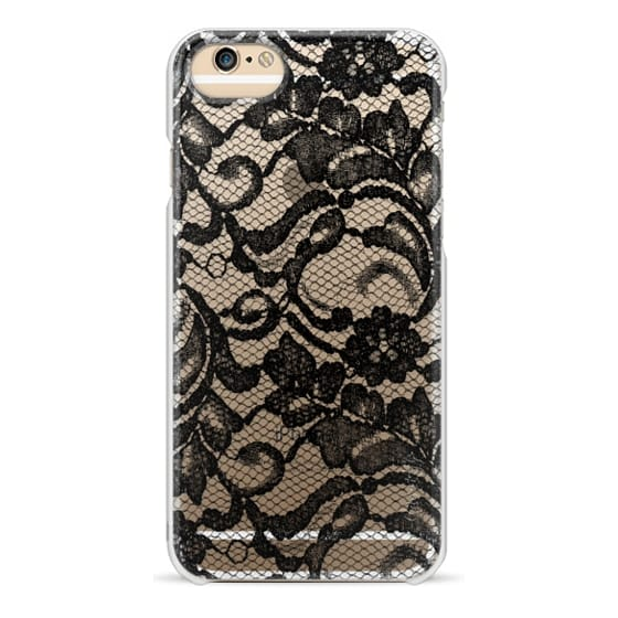 iPhone 6 Cases - Black Lace